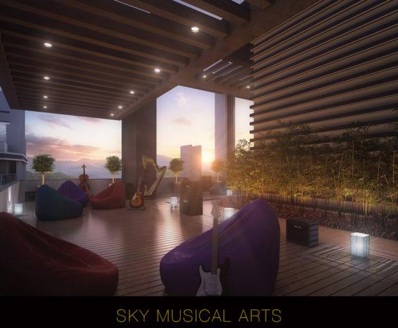 Sky Musical Art